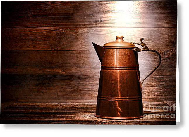 The Old Pitcher Greeting Card by Olivier Le Queinec