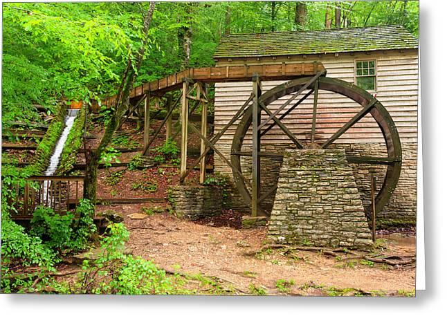 The Old Rice Mill Greeting Card by Gregory Ballos