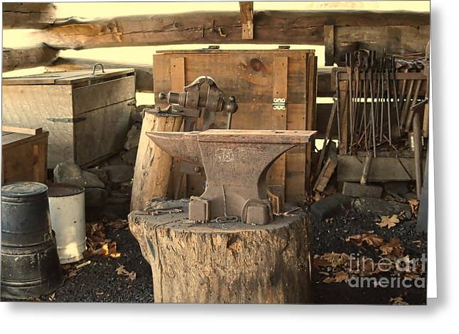 Buggy Whip Greeting Cards - The Old Shed Greeting Card by B Wayne Mullins