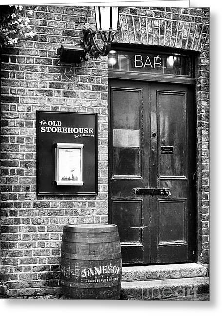 Brick Buildings Greeting Cards - The Old Storehouse Greeting Card by John Rizzuto