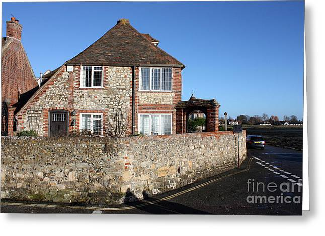 Terri Waters Greeting Cards - The Old Town Hall Shore Road Bosham Greeting Card by Terri  Waters