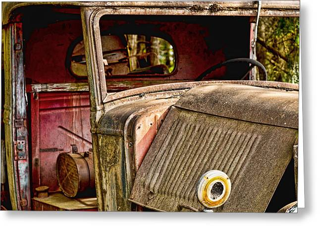 Ron Roberts Photography Greeting Cards Greeting Cards - The Old Truck Greeting Card by Ron Roberts