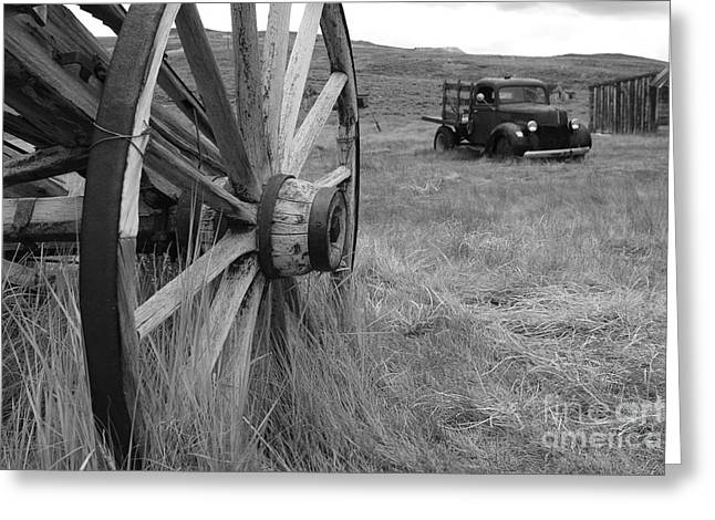 Old West Towns In California Greeting Cards - The Old West in Bodie California Greeting Card by Kelly Morvant