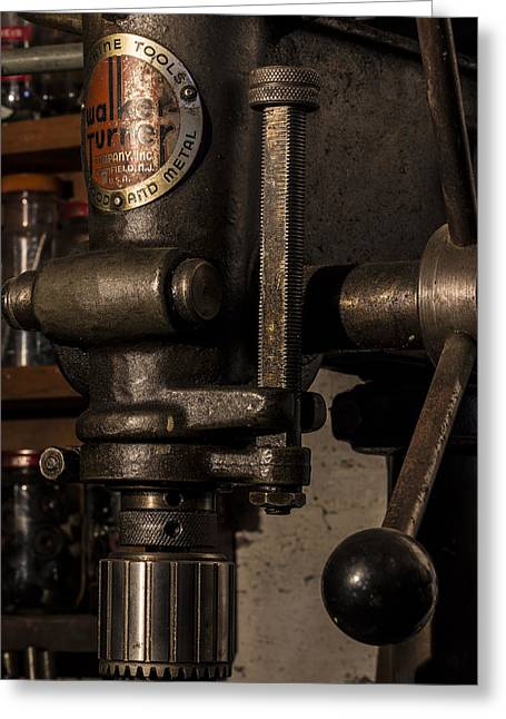 Tool Maker Greeting Cards - The Old Workshop Greeting Card by Andrew Pacheco