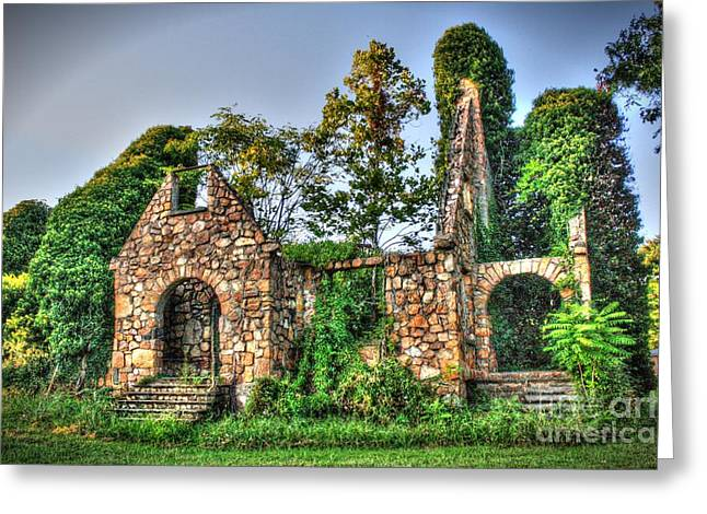 The Olde Stone Church Greeting Card by Dan Stone
