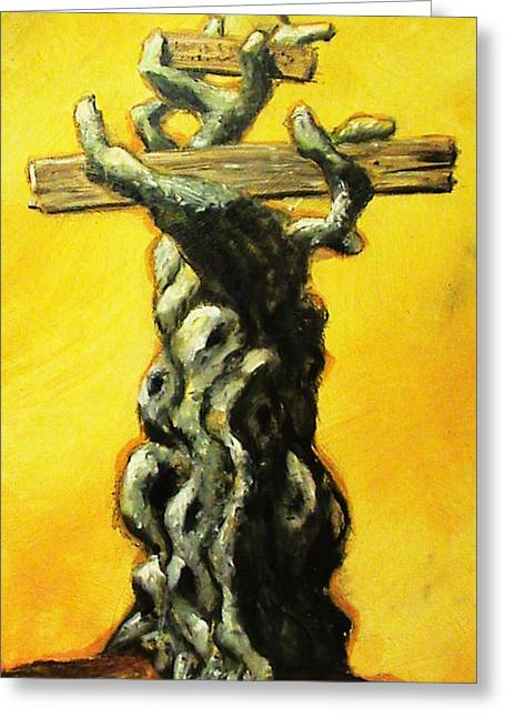 Sanctification Greeting Cards - THE Olive Branch Greeting Card by Dan Harrel