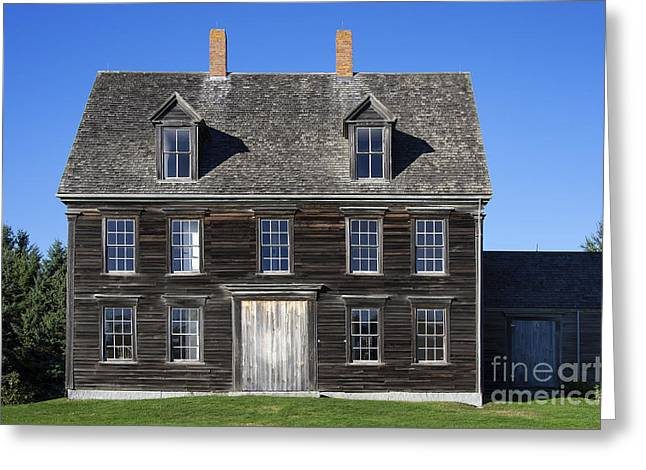 Historic Home Greeting Cards - The Olsen House Greeting Card by John Greim