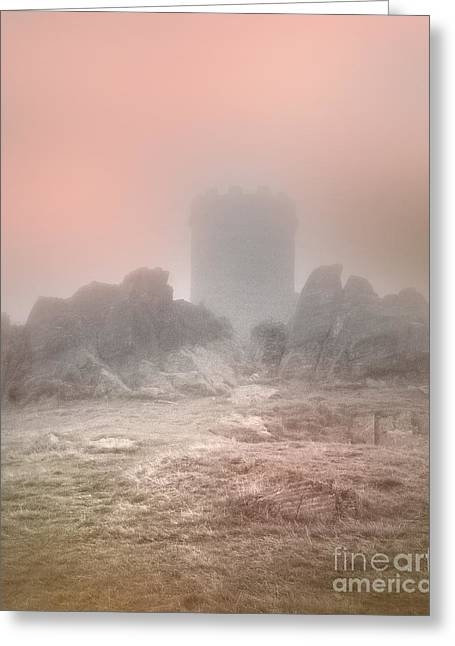 Light And Dark Greeting Cards - The One Tower Greeting Card by Linsey Williams