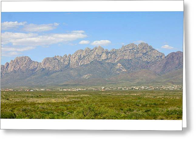 The North Greeting Cards - The Organ Mountains Greeting Card by Jack Pumphrey