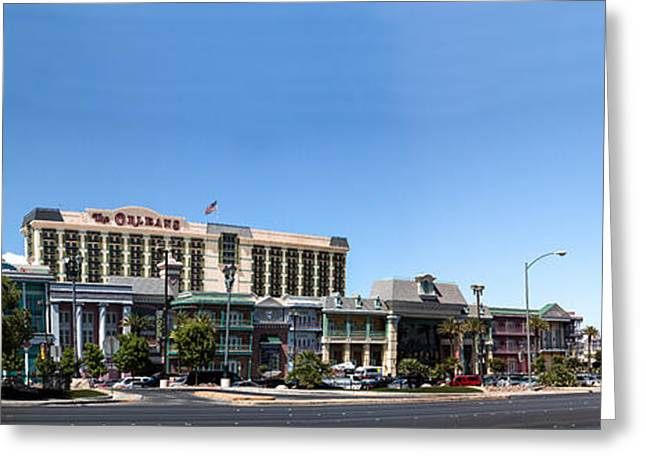 Famous Photographer Greeting Cards - The Orleans Casino Greeting Card by Jim Finch