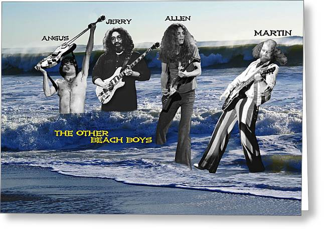 The Other Beach Boys Greeting Card by Ben Upham