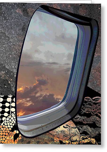 Outer Limits Greeting Cards - The Other Side Of Natural Greeting Card by Glenn McCarthy Art and Photography