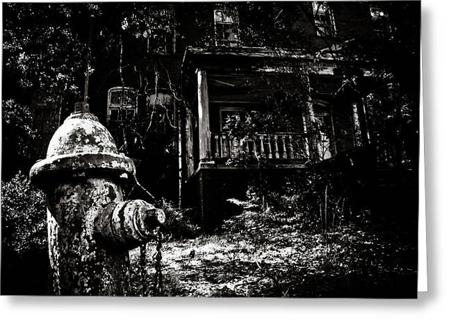 Abandoned Houses Greeting Cards - The Outsider Greeting Card by Jessica Brawley