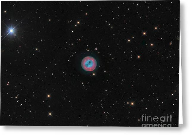 Twinkle Greeting Cards - The Owl Nebula, A Planetary Nebula Greeting Card by Michael Miller