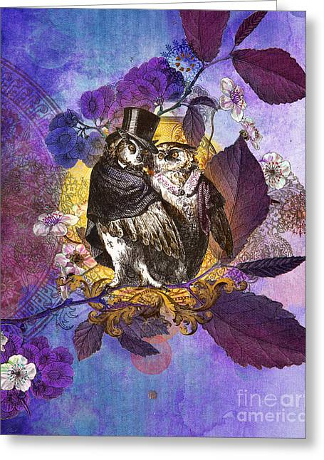 The Owlsleys Greeting Card by Aimee Stewart