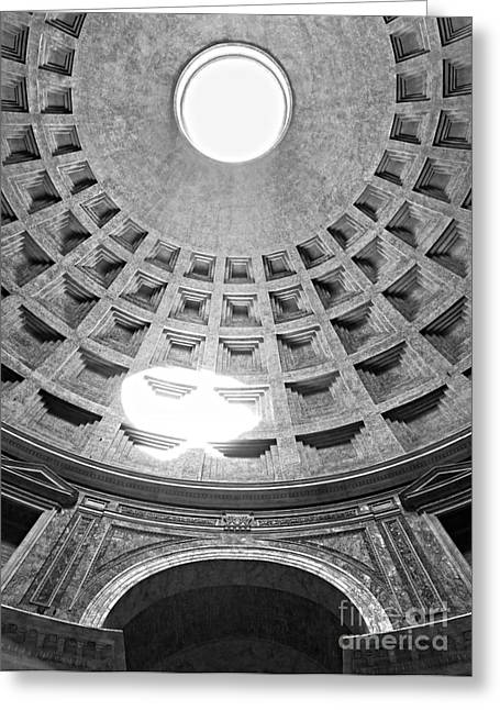 Recently Sold -  - Historic Architecture Greeting Cards - The Pantheon - Rome - Italy Greeting Card by Luciano Mortula