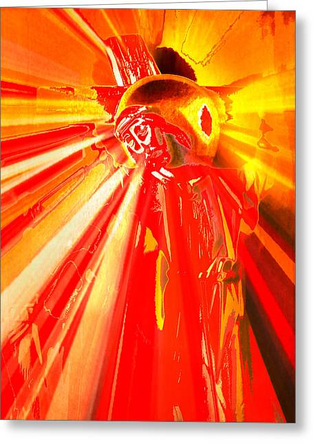 Holy Week Digital Art Greeting Cards - The Passion of Christ IV Greeting Card by Aurelio Zucco