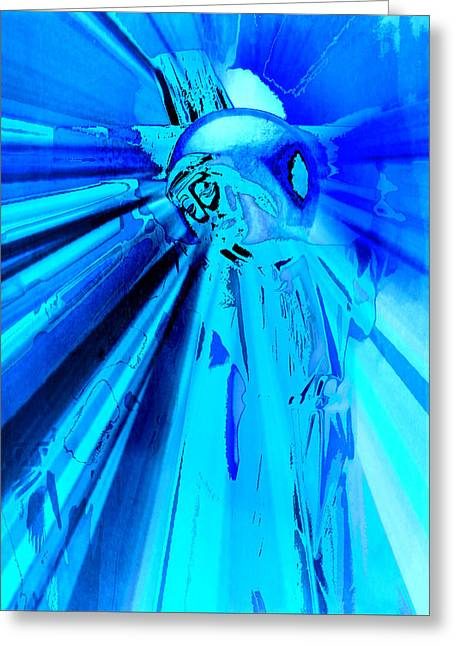 Holy Week Digital Art Greeting Cards - The Passion of Christ V Greeting Card by Aurelio Zucco
