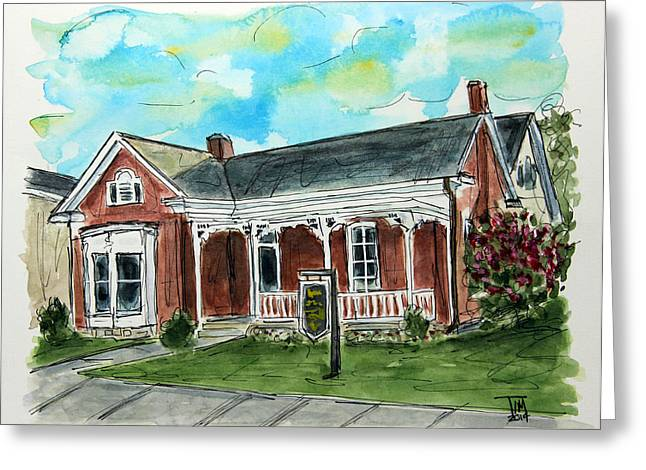 Franklin Tennessee Greeting Cards - The Past Protectors Greeting Card by Tim Ross