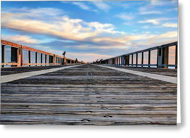 Navarre Beach Greeting Cards - The Path in Navarre Greeting Card by JC Findley