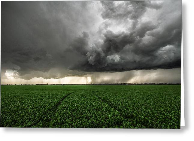 Lightning Photographer Greeting Cards - The Path Less Traveled Greeting Card by Sean Ramsey