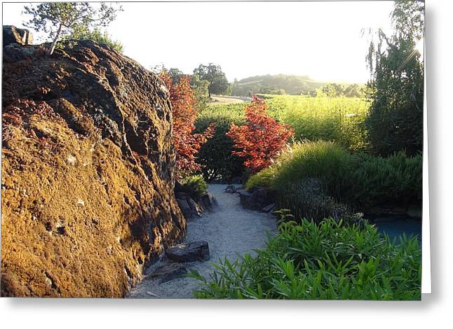 Bam Greeting Cards - The Path Greeting Card by Shawn Marlow