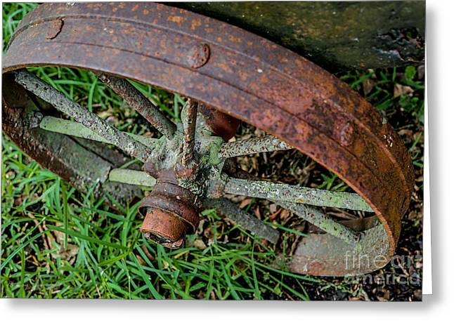 The Patina Of Time Greeting Card by Rene Triay Photography