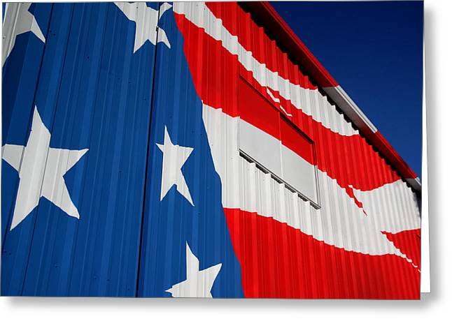 Patriots Framed Prints Greeting Cards - The Patriot Greeting Card by Ross Lewis