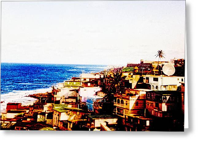 Condemnation Greeting Cards - The Pearl Of Old San Juan Greeting Card by Sandra Pena de Ortiz