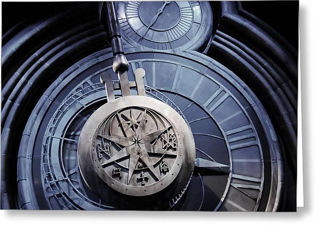 Pendulum Greeting Cards - The Pendulum  Greeting Card by Gina Dsgn