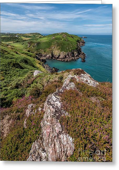 Llyn Greeting Cards - The Peninsula Greeting Card by Adrian Evans
