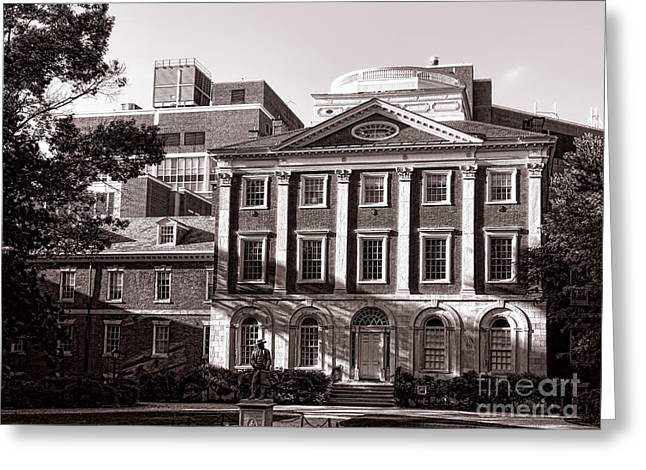 Phila Photographs Greeting Cards - The Pennsylvania Hospital Greeting Card by Olivier Le Queinec