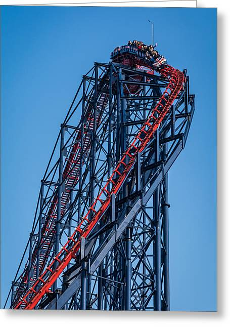 Pepsi Max Greeting Cards - The Pepsi Max Blackpool. Greeting Card by Daniel Kay