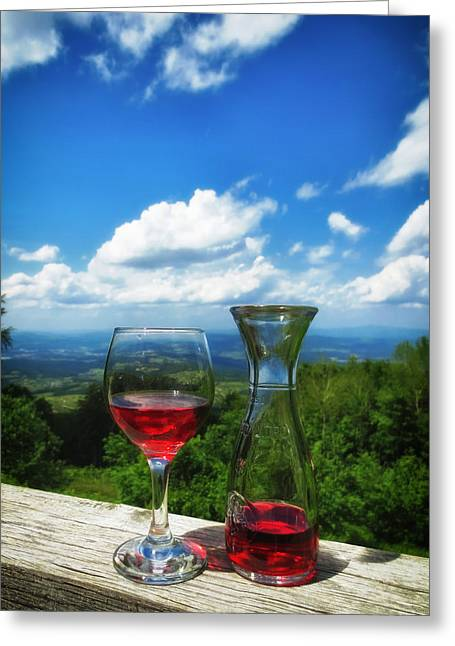 Carafe Greeting Cards - The Perfect Afternoon Greeting Card by Mountain Dreams