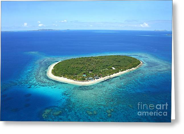 Areal Greeting Cards - The perfect Island Greeting Card by Lars Ruecker