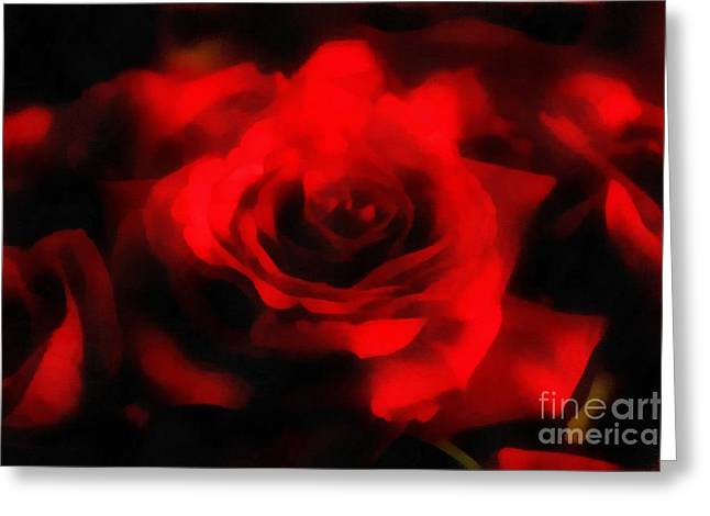 Rose Pleasure Greeting Cards - The perfect Rose Greeting Card by Scott B Bennett