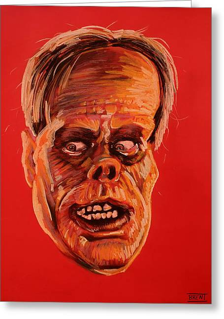 Haunted House Pastels Greeting Cards - The Phantom of the Opera Greeting Card by Brent Andrew Doty