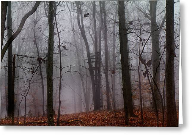 Mystical Landscape Greeting Cards - The Phantom Rises Greeting Card by Betsy A  Cutler