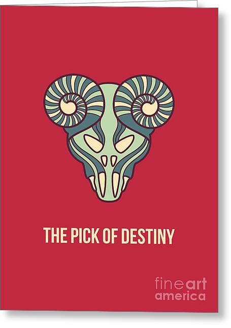 The Pick Of Destiny Greeting Card by Freshinkstain