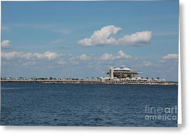 St Petersburg Florida Greeting Cards - The Pier Greeting Card by Carol Groenen