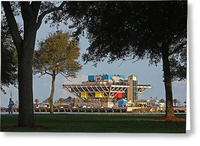 St Petersburg Florida Greeting Cards - The Pier - St. Petersburg FL Greeting Card by HH Photography