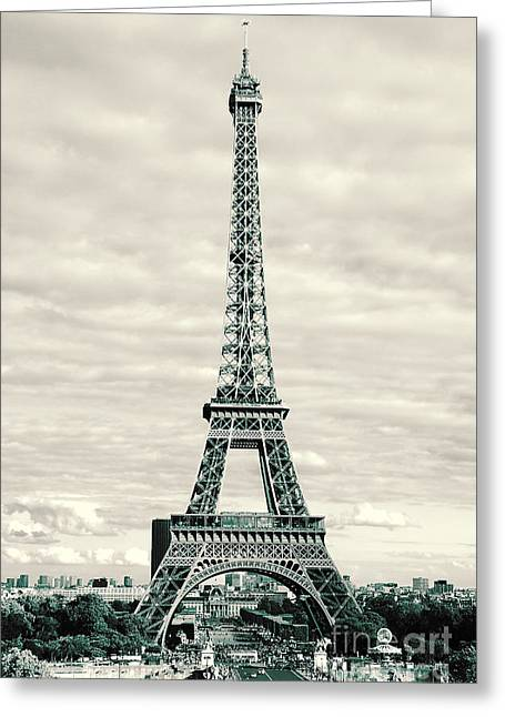 Trocadero Greeting Cards - The Pinnacle Greeting Card by Ivy Ho