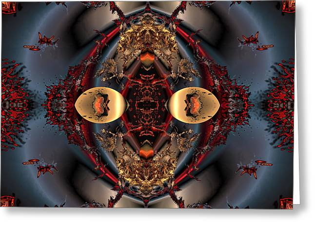The place of reconciliation Greeting Card by Claude McCoy