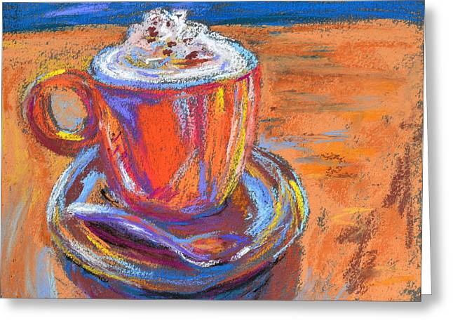 Relaxed Pastels Greeting Cards - The Pleasure of a Well-Made Thing Greeting Card by Beverley Harper Tinsley
