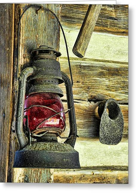 The Porch Light Greeting Card by Jan Amiss Photography