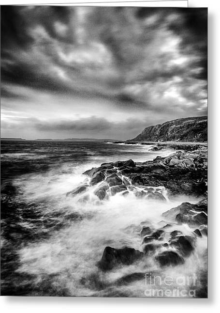 Ayrshire Greeting Cards - The power of Nature Greeting Card by John Farnan