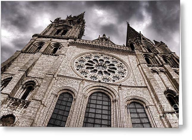 Allegoric Greeting Cards - The Power of the Church Greeting Card by Olivier Le Queinec