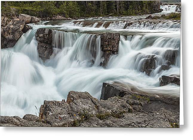 Photoshop Greeting Cards - The Power of Water Greeting Card by Jon Glaser