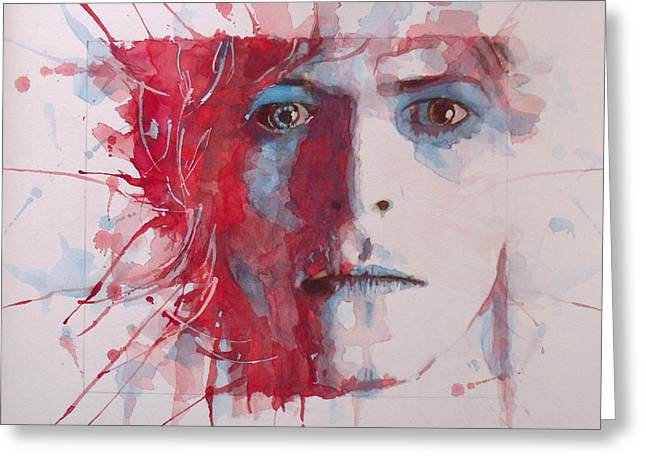 Songwriter Greeting Cards - The Prettiest Star Greeting Card by Paul Lovering