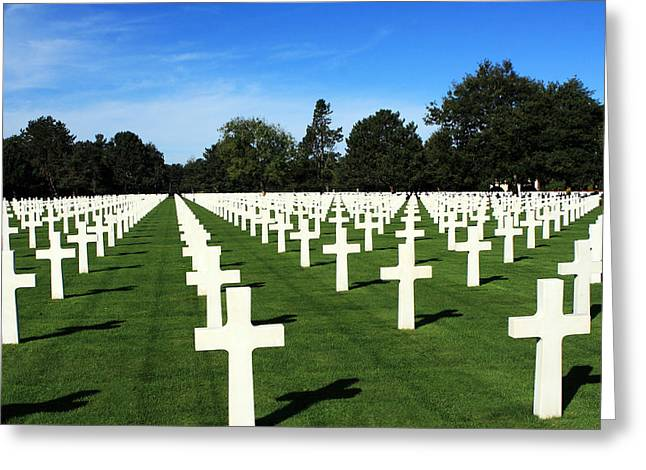 Fallen Soldiers Greeting Cards - The Price Of Freedom Greeting Card by Aidan Moran